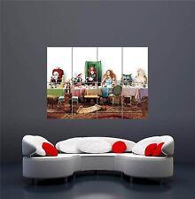 Alice's Tea P y Sombrerero Loco Gato de Cheshire Nuevo Poster Gigante De Pared Arte Impresión OZ095