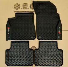 original Audi SQ7 Fußmatten Q7 4M ab 2015 Gummimatten Gummifußmatten rubber mats
