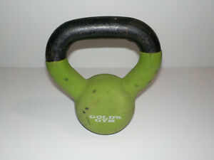 Golds Gym 10lb Kettlebell Green Coated