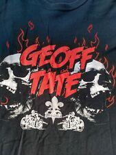 Ultra Rare Geoff Tate Voice of Queensryche 2012 Insania Tour T-Shirt Mens 2Xl