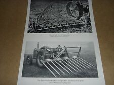 OLD TRACTOR IMAGE & PATERSON BUCK RAKE