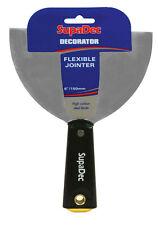 "SupaDec Wallpaper Scraper Filling Knife Flexible Jointer Paint Scraper - 6"""