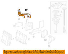 GM OEM Ignition Spark Plug-Wire OR Set-See Image 19351573