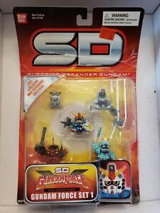 SD GUNDAM Gundam Force Set 1 Action Figure Bandai Mini Defender Superior NEW M50
