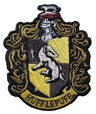 Harry Potter Hufflepuff Crest Embroidered Patch Officially Licensed