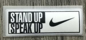 Stand Up Speak Up Patch Iron Transfer For Arsenal Jersey