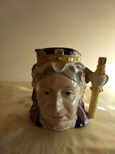 Royal Doulton Queen Victoria Large Toby Jug #D6816 1987 Handmade Hand Decorated