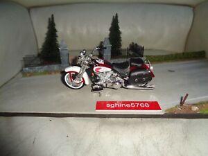 Maisto 1/18 - Moto Harley Davidson 2001 FLSTS Heritage Springer - AL