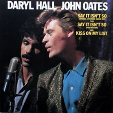 "DARYL HALL & JOHN OATES - SAY IT ISN'T SO 12"" 33 -IN EXCELLENT CONDITION"