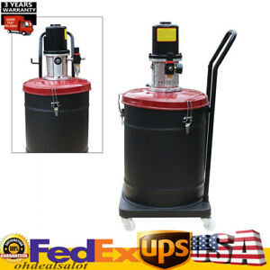 10 Gallon Pneumatic Grease Injector Air Operated High Pressure Grease Pump 40L