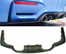 Real Carbon Fiber 3D Style Rear Diffuser For BMW F80 M3 F82 M4 2014UP B243