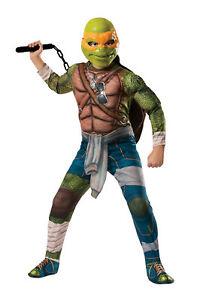 Teenage Mutant Ninja Turtles Michelangelo Child Boys Jumpsuit Halloween Costume