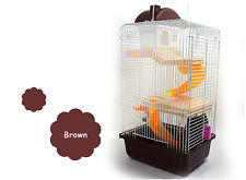 Luxury Hamster Cage Set Gerbil Rat Mouse Nest House Small Animals House 3 Storey