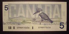Canada 1986 BC-56c $5 Note GPM8975636 - GemUnc