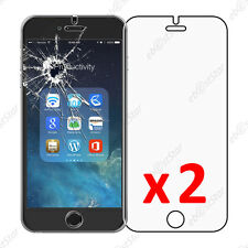 """x2 Film Protection écran Verre Trempé Vitre Anti Casse Apple iPhone 6 Plus 5,5"""""""