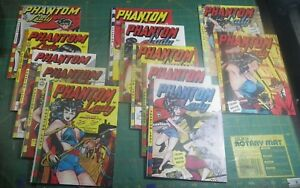Reprints of Phantom Lady 13-14, 16-23, Matt Baker, Mint Condition!!!