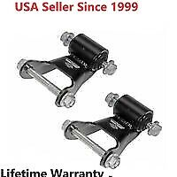 PAIR Dorman 722-029 Leaf Spring Rearward Shackle Bracket Kit Set for Chevy GMC