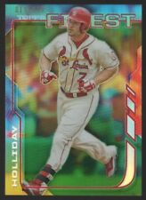 2014 FINEST GREEN REFRACTORS #86 MATT HOLLIDAY  /199