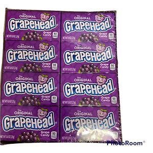 American Sweets Grapehead Grape Candy 24 x 23g Packs