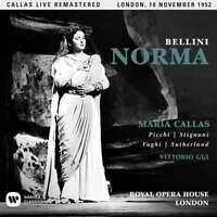 Maria Callas - Bellini: NORMA (1952-London) NUEVO CD