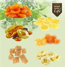 Best Dried Fruit - Apricots/Apple Rings/Pineapple Rings/Mixed Fruit Salad/Ginger