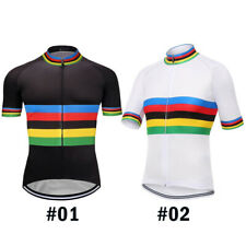 Cycling ChampionShip Jersey Bicycle Shirt Short MTB Bike Jacket Motocross Ride
