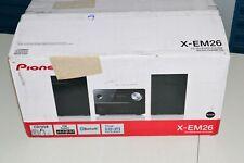 Pioneer X-EM26 CD Receiver System Black with Speakers