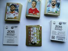 Panini World Cup 2018 Russia WM WC 18 - Swiss Gold Edition - Sticker aussuchen