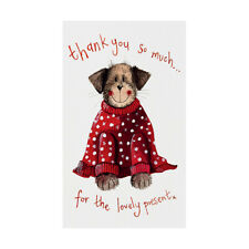 Alex Clark Dog in Jumper Pack of 5 Christmas Thank You Cards