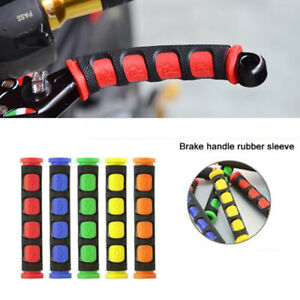 Soft Anti-Slip Brake Handle Silicone Sleeve Motorcycle Bicycle Protection Ch3