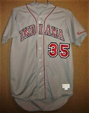 INDIANA HOOSIERS #35 Gray COLLEGE BASEBALL Size 50 JERSEY