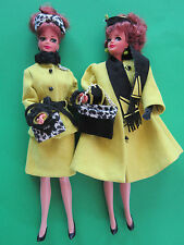 Adorable Barbie/Midge redhead doll set by Ooak Artist Duo Hunter-Goldblatt- Mint