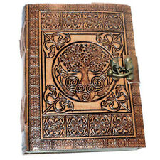 Dream Keeper Tree of Life Leather Journal 5x7 with Latch NEW Unlined Handmade
