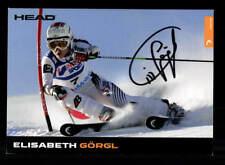 Elisabeth Görgl Autogrammkarte Original Signiert Ski Alpine +A 175602