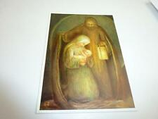 "vintage blank 70` greeting cards  Spötl""maria andjesus""1307"""
