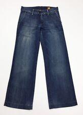Meltin pot robin jeans donna usato zampa bootcut loose W27 tg 41 denim T4447