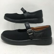 Dr. Comfort Womens Mary Jane Shoes Black Buckle 9.5