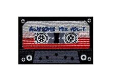 Awesome Mix Tape Cassette Retro 80's 70's Embroidered IRON ON Patch