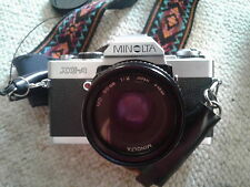 Minolta XG-A Film Camera Outfit Includes Lenses, motorized drive, & More!