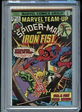 Marvel Team Up #31 CGC 9.8 White Pages Iron Fist 1975