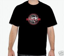 """Early Ford Bronco """"Built Ford Tough"""" Design Black T Shirt  LARGE"""