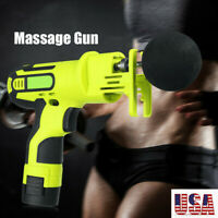 Muscle Massage Gun Vibrating Relaxation Machine Therapy Fascia Pain Relief US