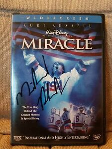 Miracle On Ice Disney DVD Signed By Michael Phelps