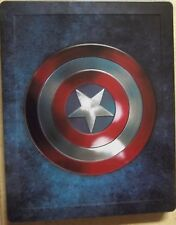 CAPTAIN AMERICA Trilogy Blu-Ray 1-3 Collection STEELBOOK New No Shrink Wrap.