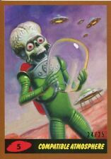 Mars Attacks The Revenge Bronze [25] Base Card #5 Compatible Atmosphere