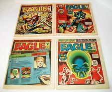 Eagle And Scream  #131-#134 4 Issue Lot 1984 IPC Magazines London Newsprint