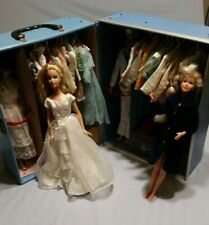1964 Barbie & Ken Case Clothes/Accessories Plus 2 Extra Barbies with Outfits