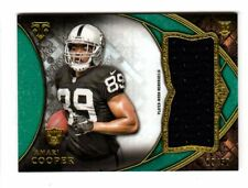 AMARI COOPER NFL 2015 TRIPLE THREADS ROOKIE JUMBO RELIC EMERALD (RAIDERS,COWBOYS