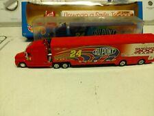 Winners Circle Jeff Gordon 24 Toy  Die-Cast semi rig used