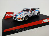 "SCX Scalextric Slot Ninco 50332 Porsche 934 ""Brumos"" Nº61"